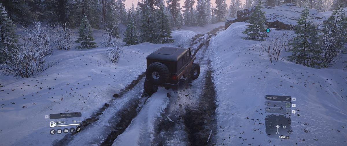 SnowRunner - масштабное и разнообразное болото уныния