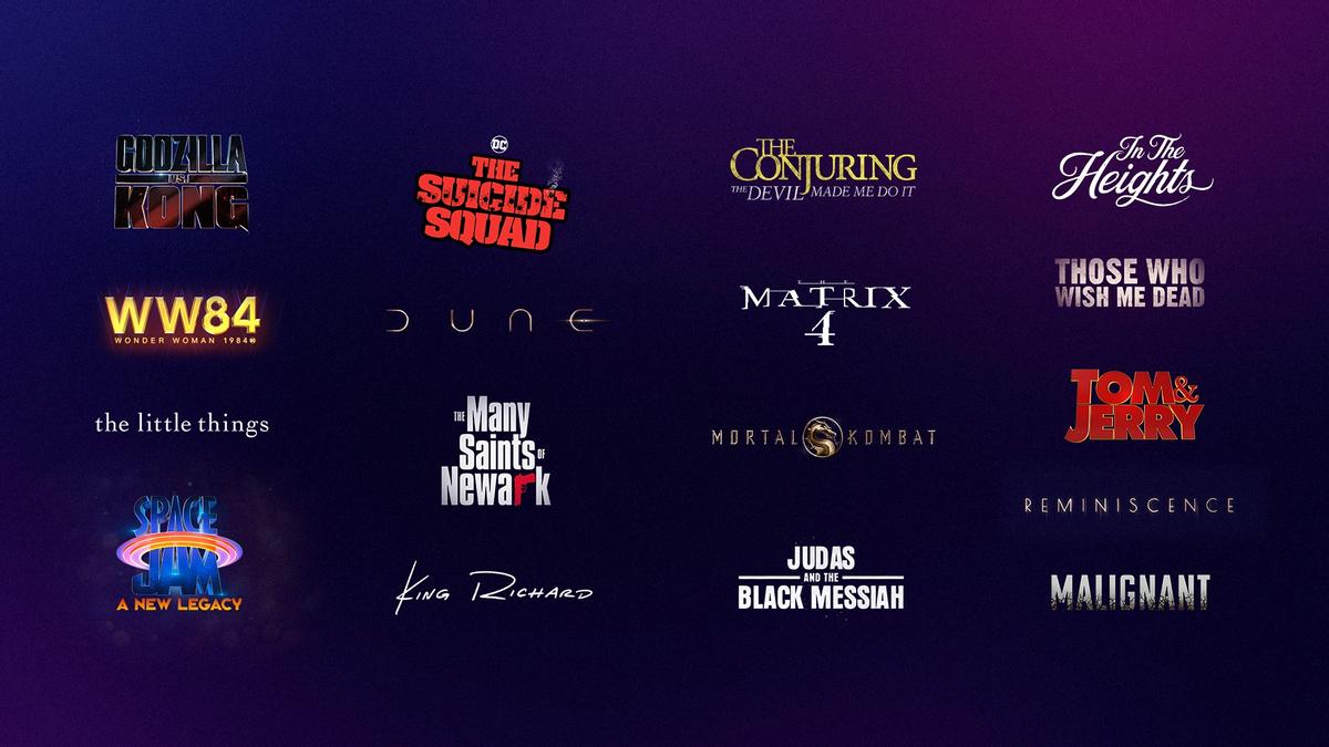 Дюна, Матрица 4, Отряд самоубийц, Смертельная битва и другие фильмы выйдут на HBO Max в день премьеры