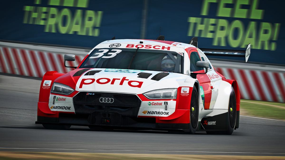 RaceRoom - Открытие международного чемпионата DTM Esports Championship 2020