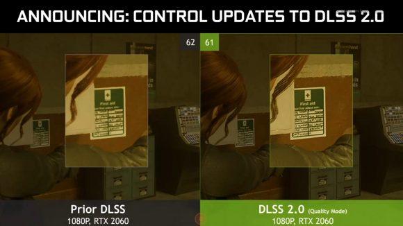 Control - В игре появится технология Nvidia DLSS 2.0
