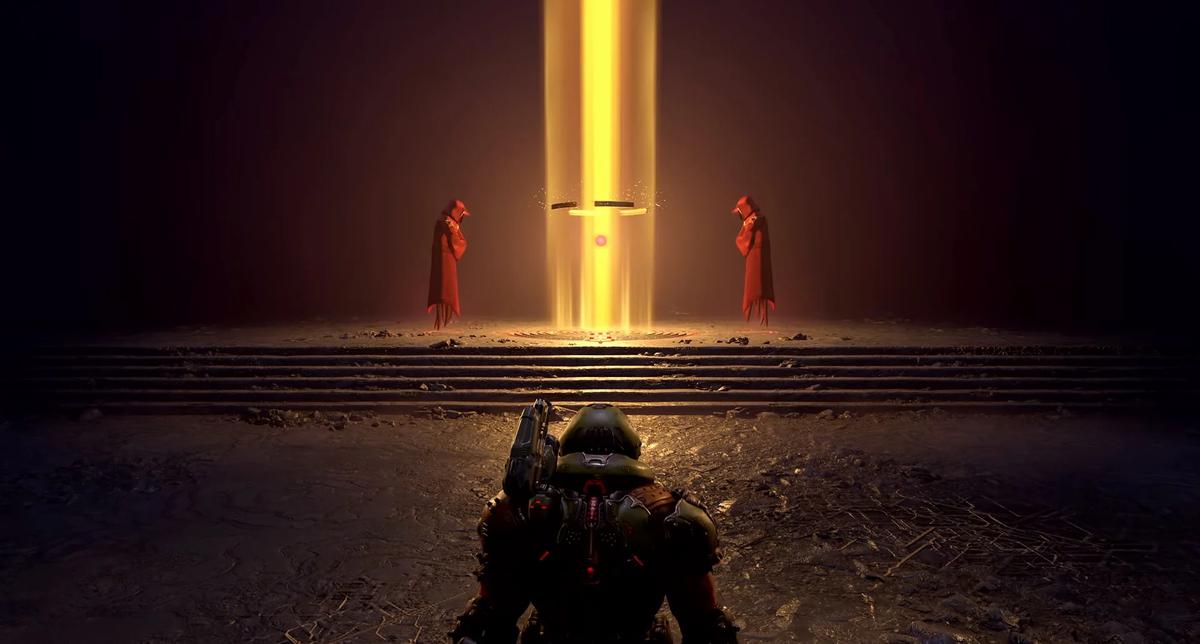 Doom Eternal: The Ancient Gods - Part Two. Чем закончилась история Палача Рока?, Нужен ли сюжет в шутере