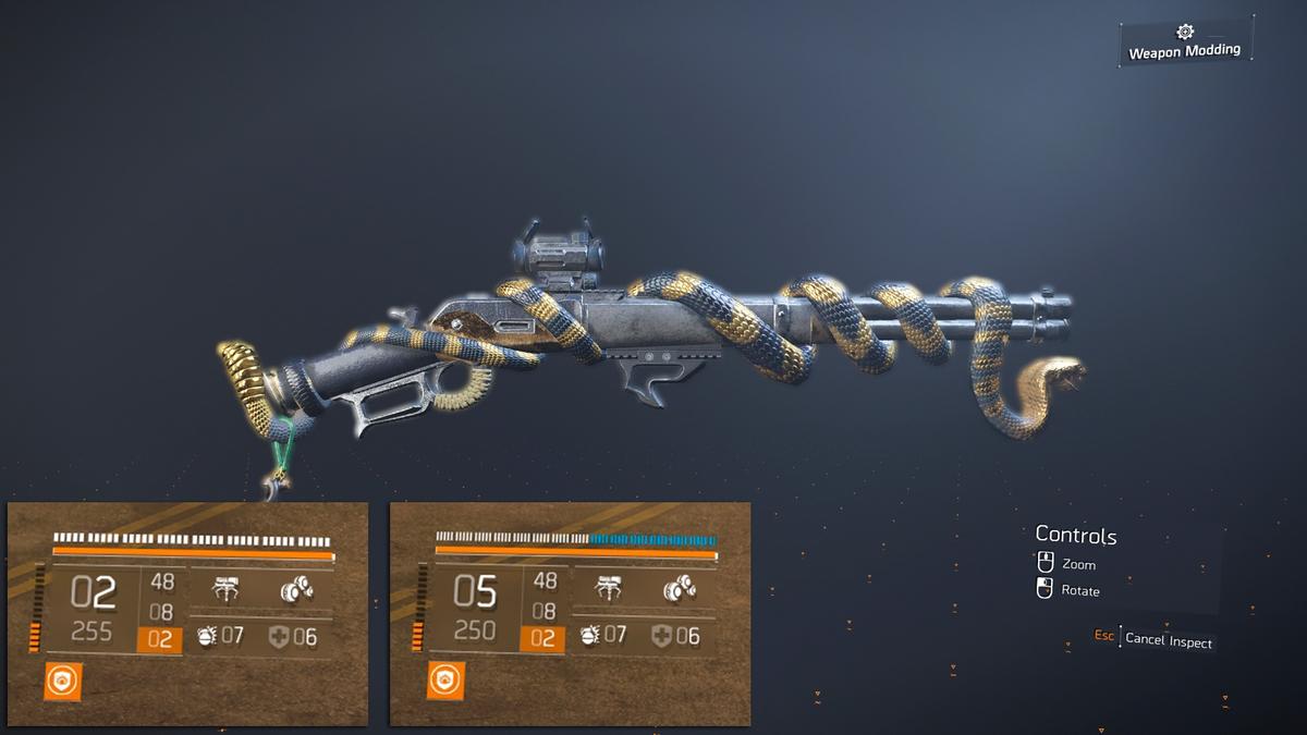 The Division 2 - экспедиции и экзотическая винтовка Diamondback