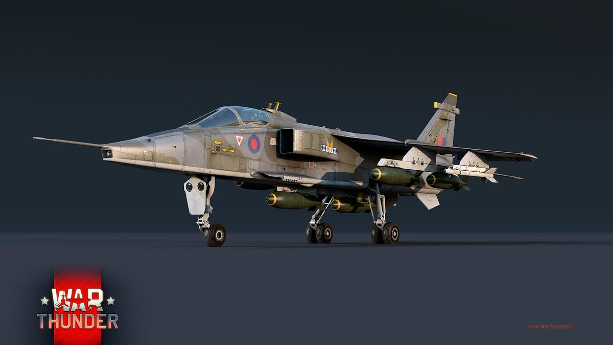 War Thunder - Передвижная береговая батарея и воздушный Ягуар
