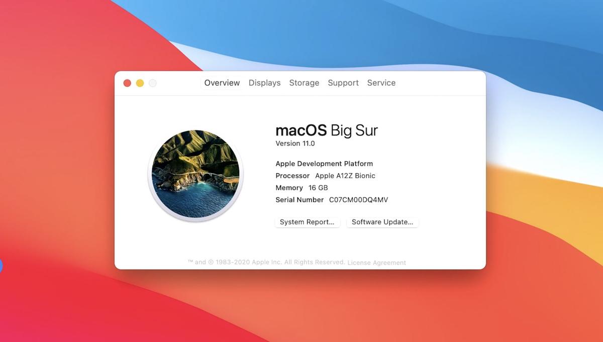 Представлена MacOS Big Sur и маки на процессоре Apple