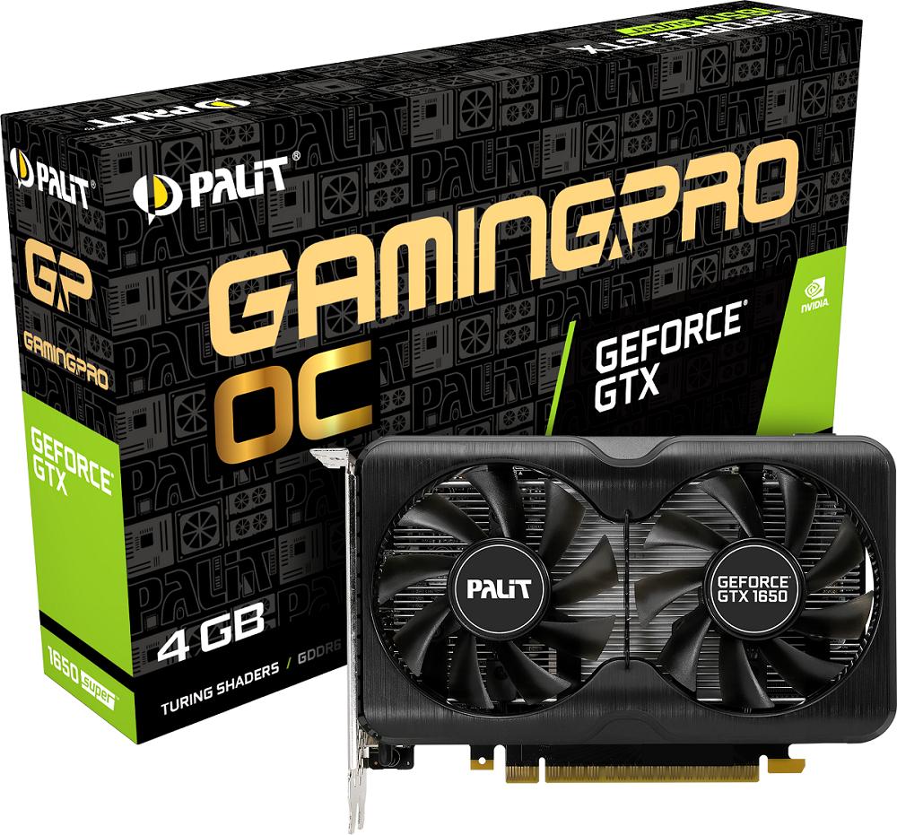Линейка GeForce GTX 1650 SUPER от Palit пополнилась новыми видеокартами