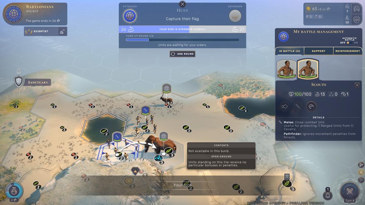 Humankind - обзор первого демосценария Babylon