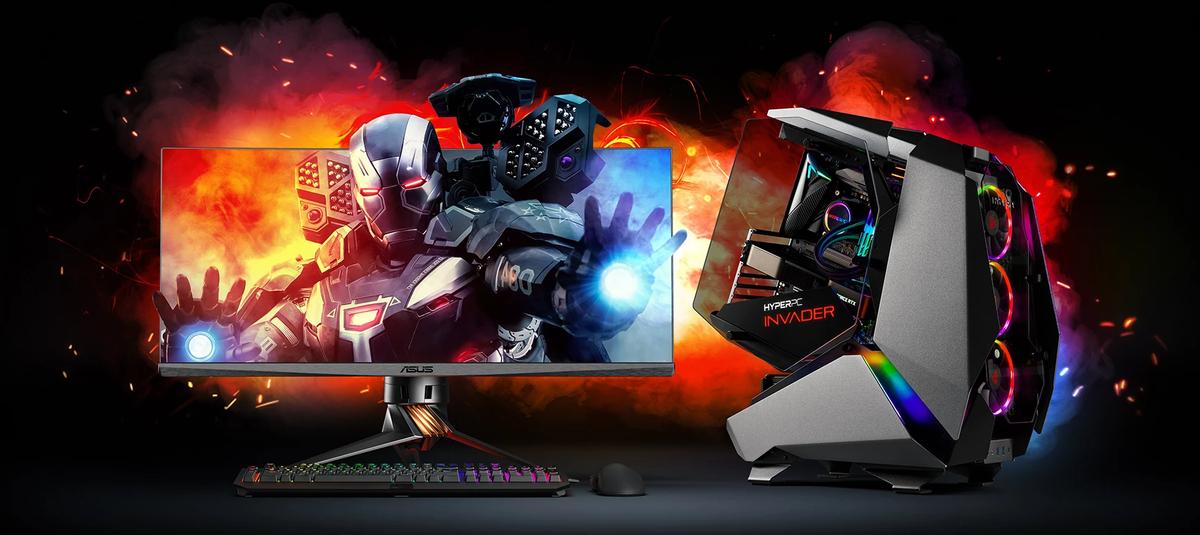 Компания HYPERPC, представляет свой новый игровой компьютер в хищном форм-факторе.