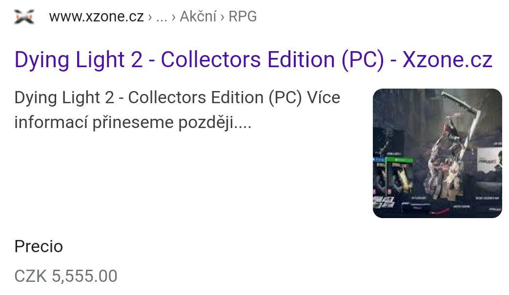 Утечка Состав коллекционного издания Dying Light 2 появился в сети