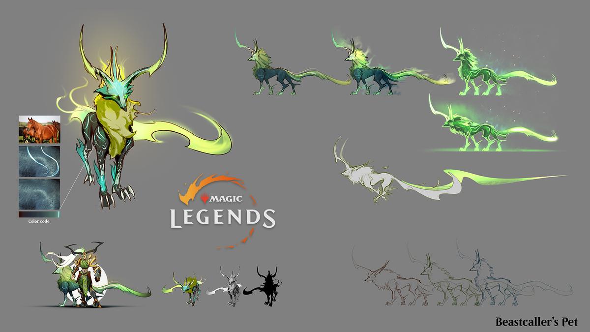 Magic: Legends - Как создавался Призыватель зверей