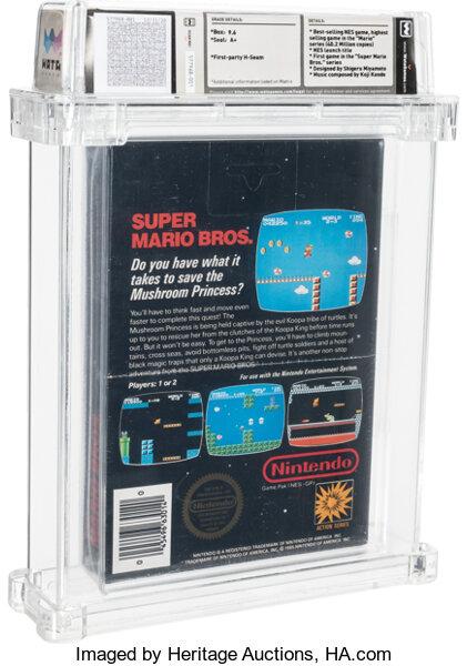 Еще одну запечатанную копию  Super Mario Bros. продали за бешеные деньги, Целых 660 тыс. долларов