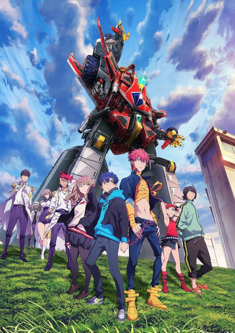 AnimeJapan 2021 Школьники опять бьют кайдзю. Трейлер SSSS.Dynazenon за неделю до премьеры