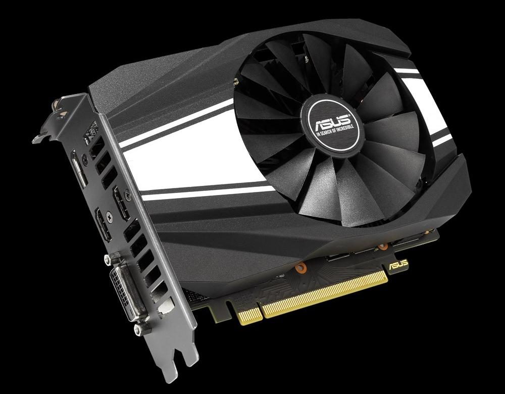Линейки видеокарт ROG Strix, TUF Gaming и Phoenix от ASUS на базе GeForce GTX 1650 GDDR6
