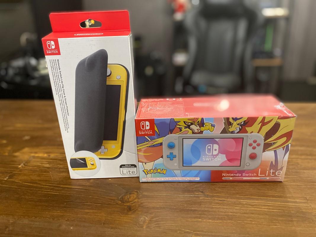 Nintendo Switch Lite версия «Зэйшиан и Земазента»