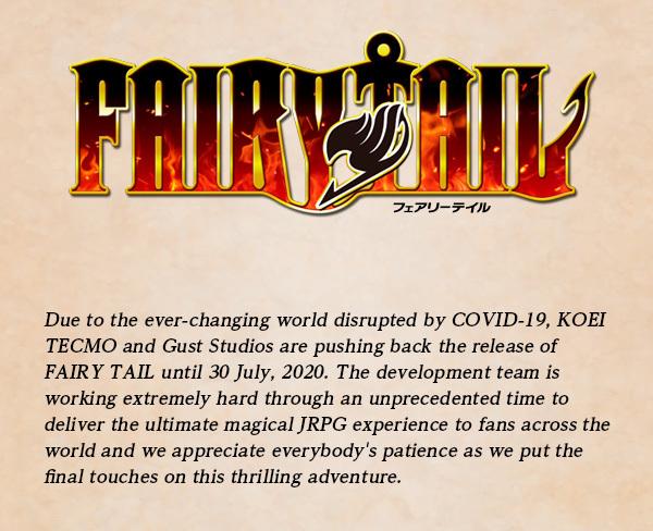 Fairy Tail - Релиз отложен на один месяц