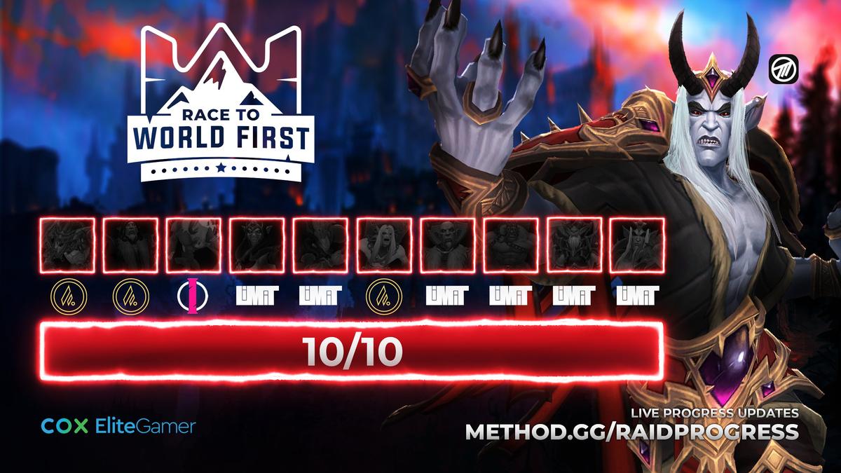World of Warcraft - Гильдия Complexity Limit первой зачистила эпохальный Замок Нафрия