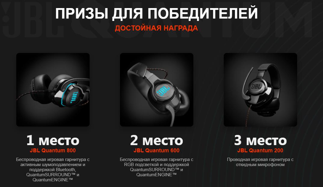 Подведение итогов конкурса JBL Звук - твое главное оружие