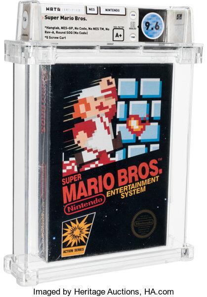 Еще одну запечатанную копию  Super Mario Bros. продали за бешеные деньги