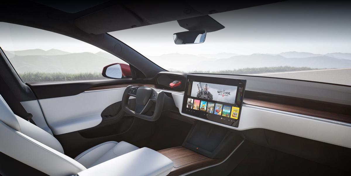 Илон Маск заявил, что новая Tesla потянет Cyberpunk 2077