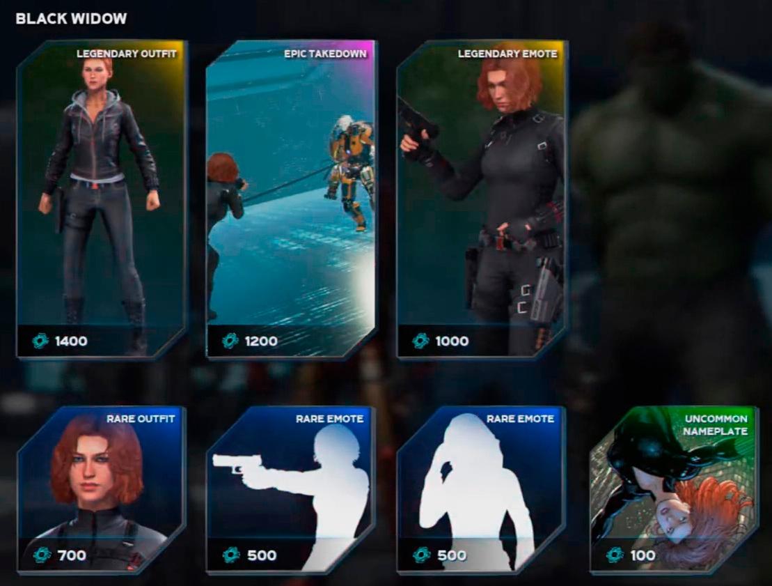 Marvel's Avengers - торговцы, испытание героев, косметические предметы, донат и прочее