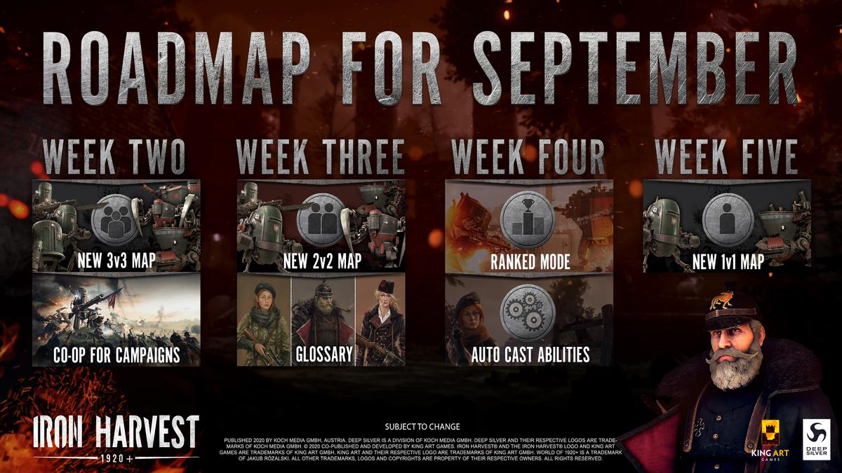 Iron Harvest - В игре появятся режим совместной кампании и ранговые сражения