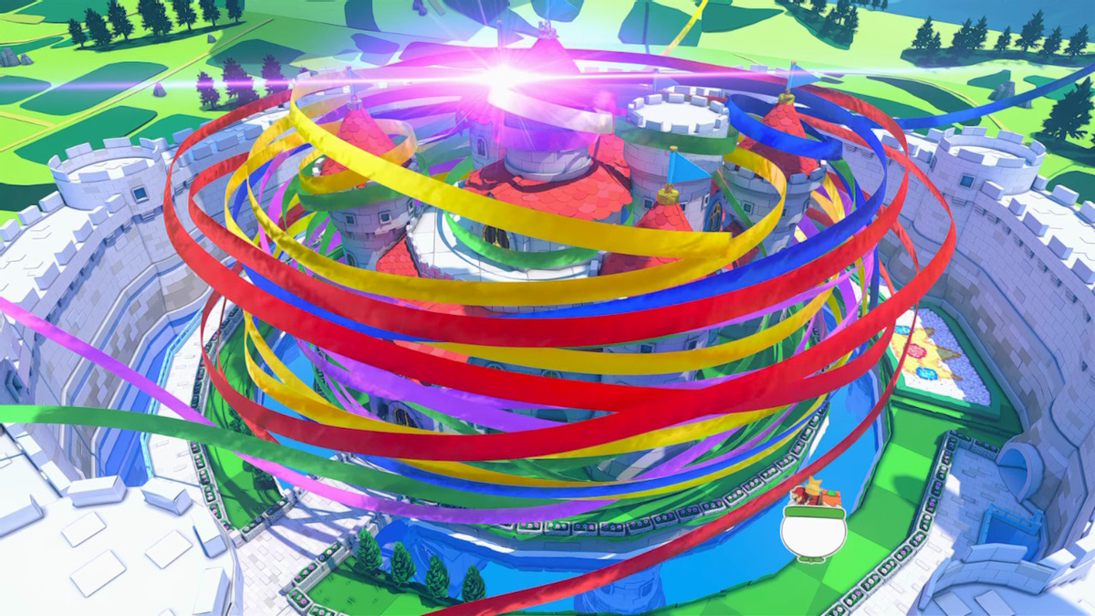 Paper Mario: Origami King - юмор, краски и веселье