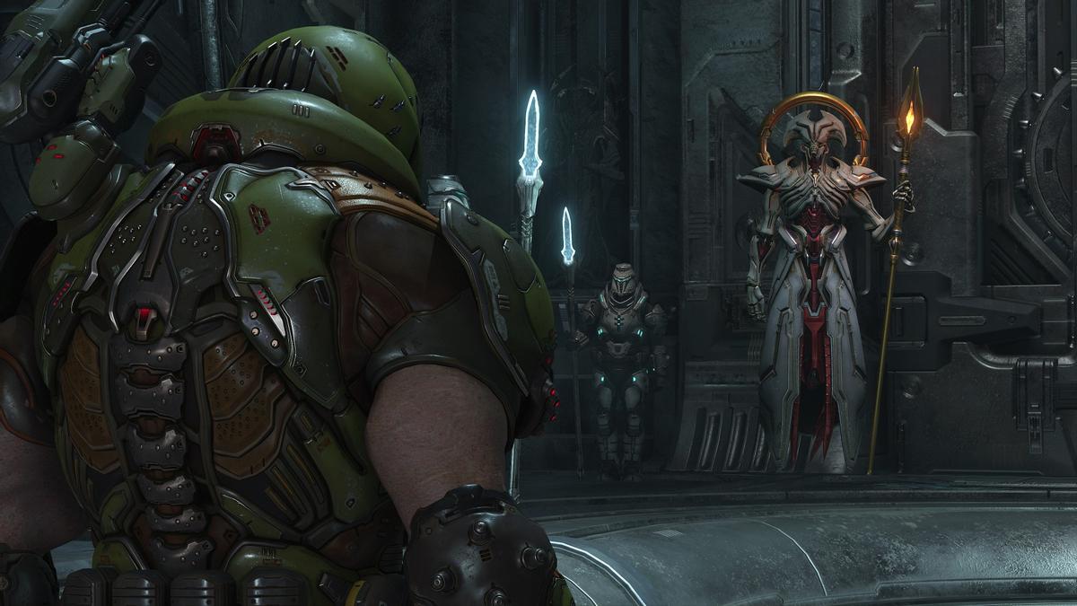 ff7OldFcEg - Doom Eternal - Демоны и рунический меч на новых скриншотах