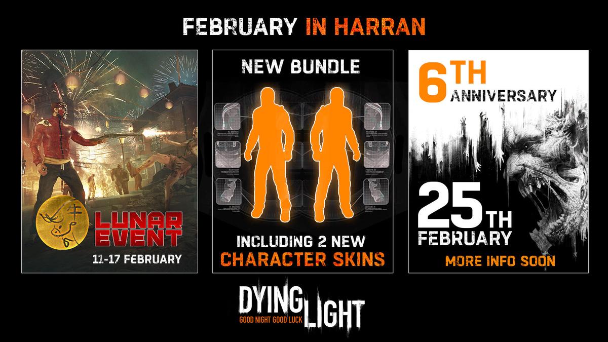 Dying Light - В феврале игра отметит шестую годовщину и Лунный новый год