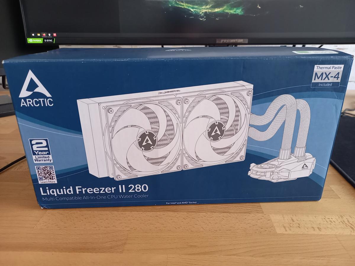 Arctic Liquid Freezer II - топовая СЖО за полцены
