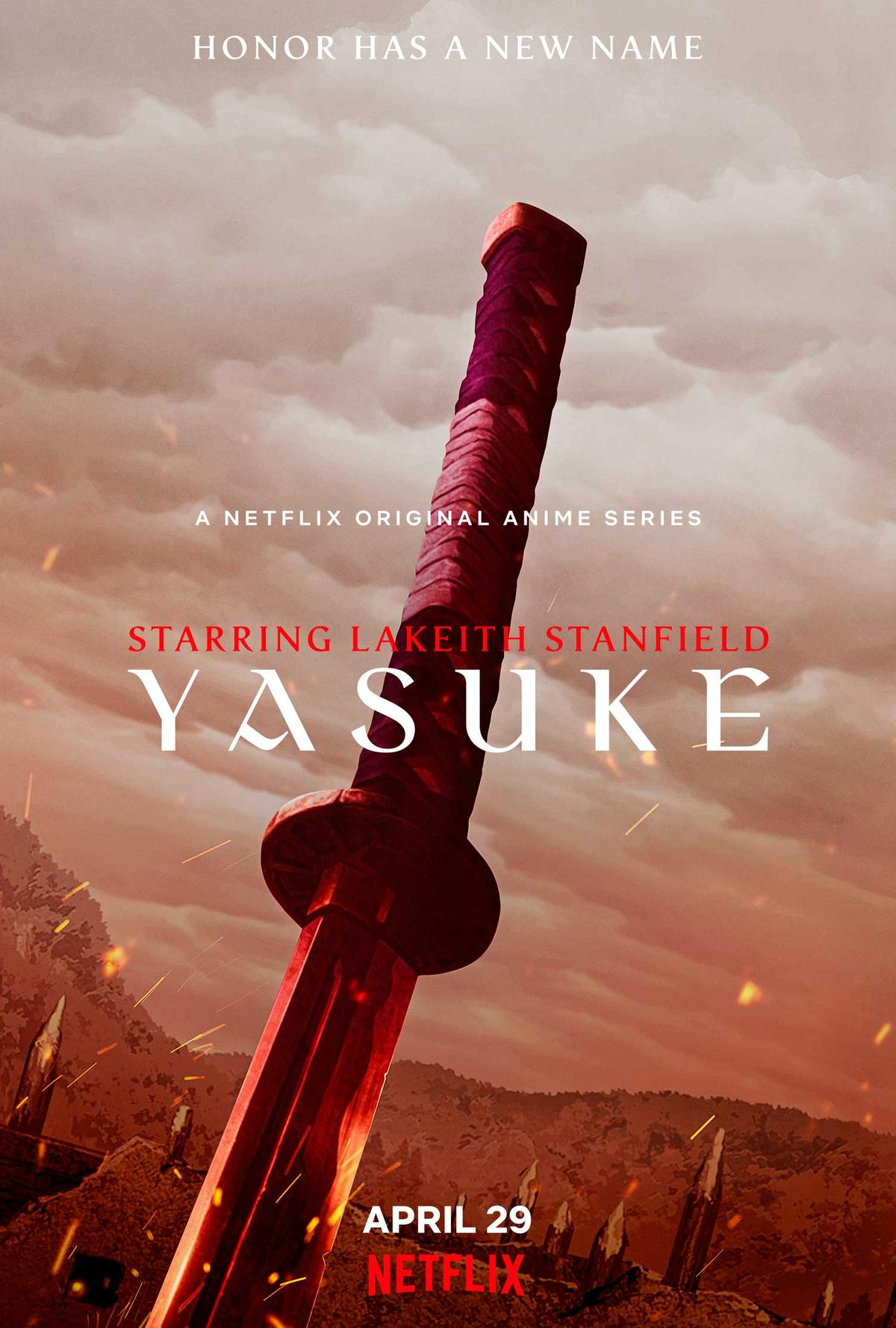Аниме по заветам Netflix: первый черный самурай спасает Японию в дебютном тизер-трейлере «Яске», Стриминговый сервис набирает обороты по части анимации