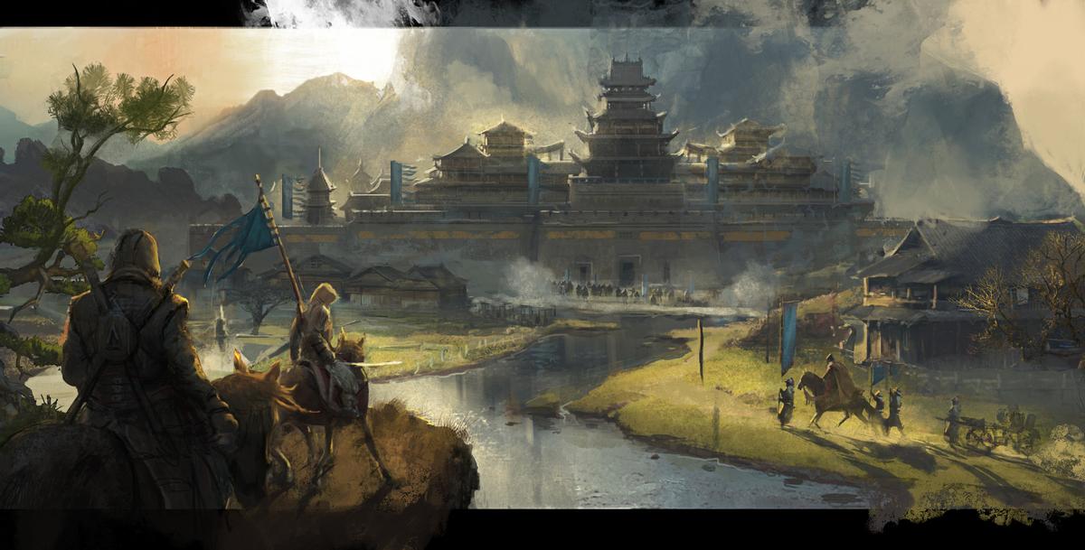 Концепт-арты Assassins Creed в Китае всплыли в сети