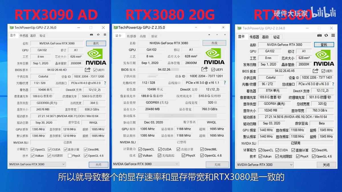Утечка Результаты тестов RTX 3080 20Гб в играх и бенчмарках