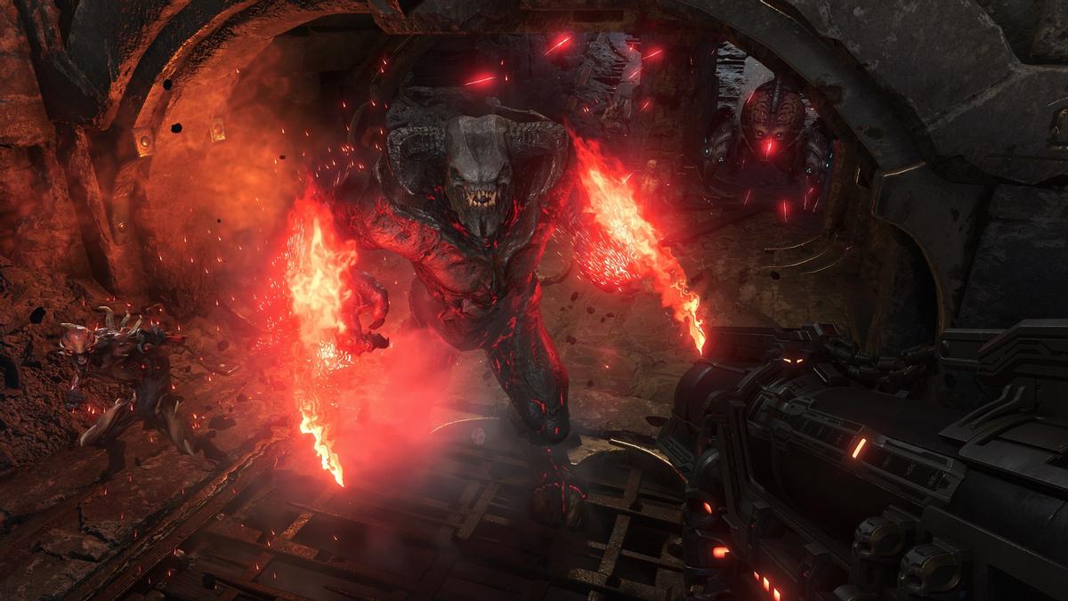 AyZDCrCbvk - Doom Eternal - Демоны и рунический меч на новых скриншотах