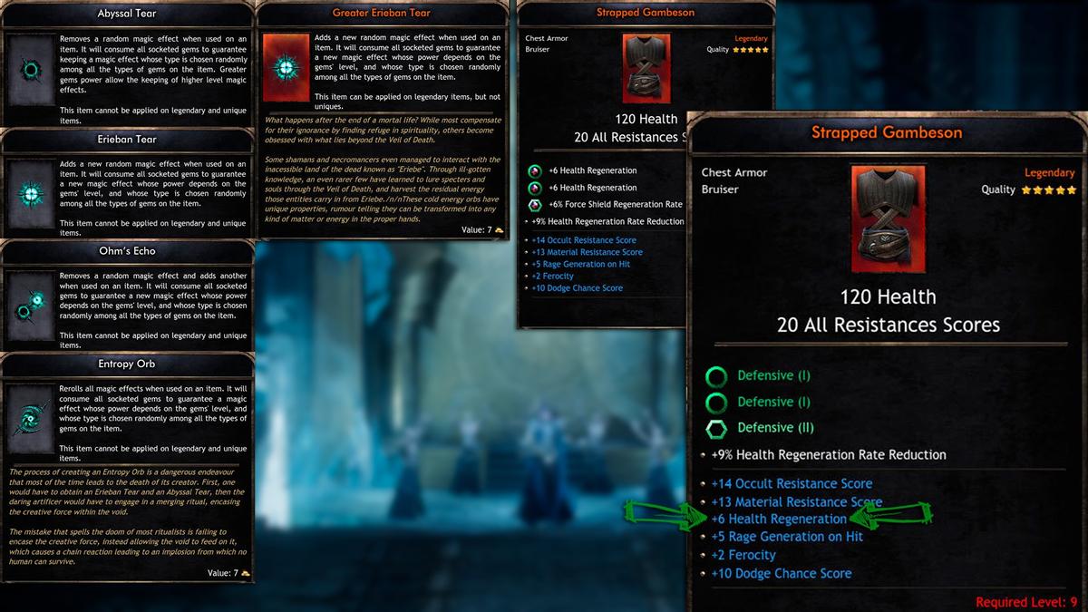 Wolcen: Lords of Mayhem - на что будет похож крафт в игре