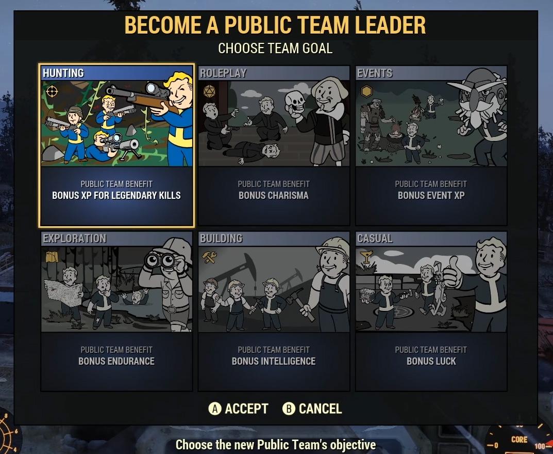 Fallout 76 - Вскоре в игре появятся публичные команды