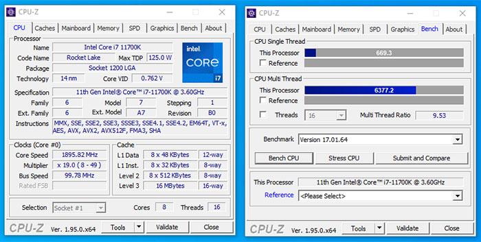 120 Intel Core i7-11700K уже попали к покупателям в Германии