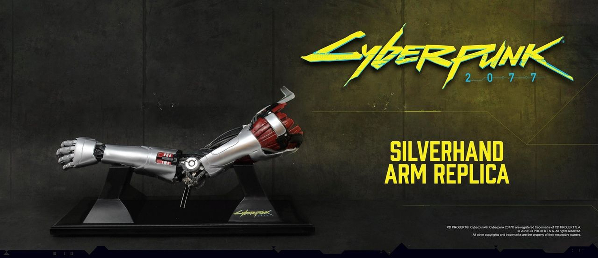 Cyberpunk 2077 — Все желающие могут предзаказать руку Джонни Сильверхенда за ,99