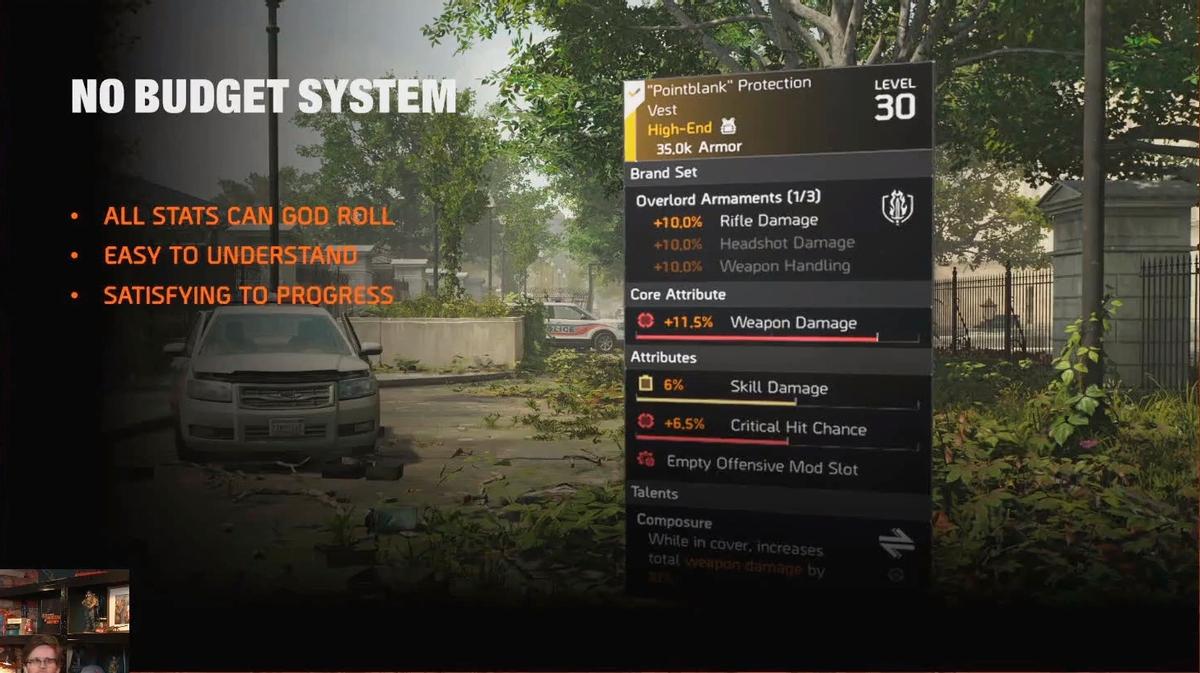 The Division 2 - переработка системы снаряжения
