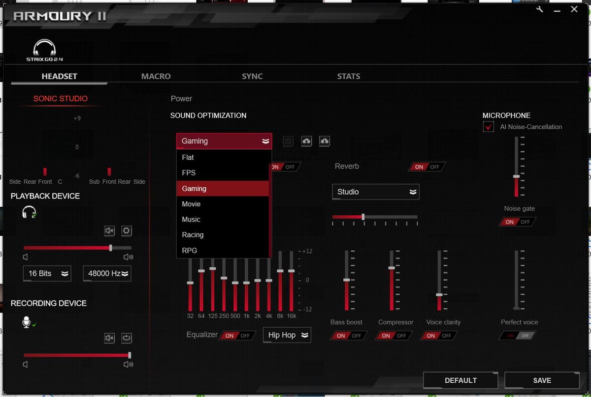[Обзор] ASUS ROG Strix Go 2.4