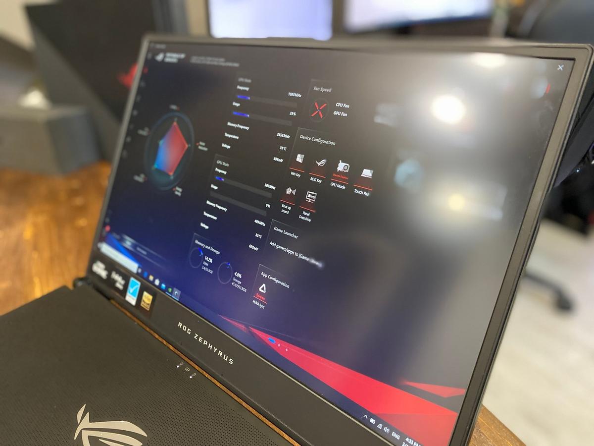 Игровой ноутбук, способный заменить ПК — ASUS ROG Zephyrus S GX701GX