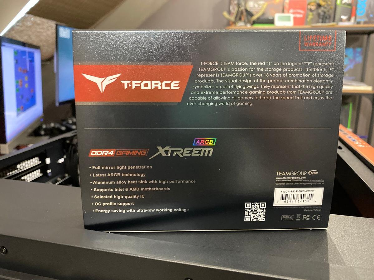 [Обзор] Оперативная память T-Force Xtreem 3600 МГц ARGB — топовая память для AMD и Intel