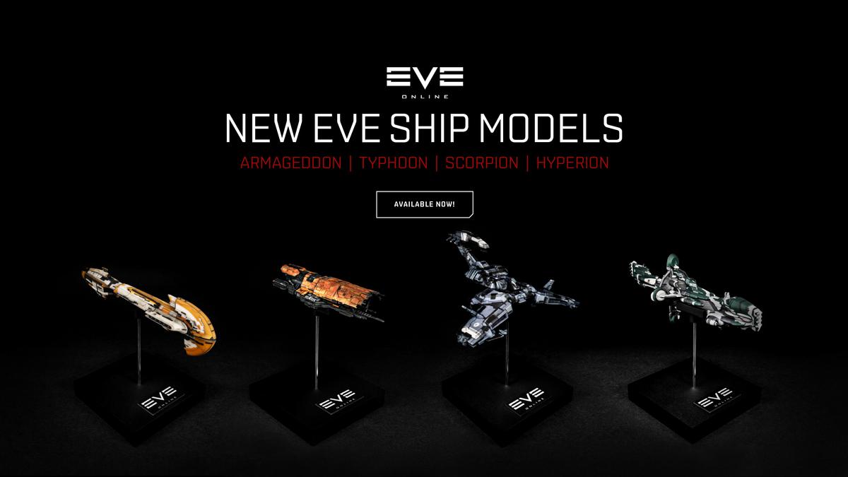 EVE Online  Новая коллекция кораблей от Mixed Dimensions