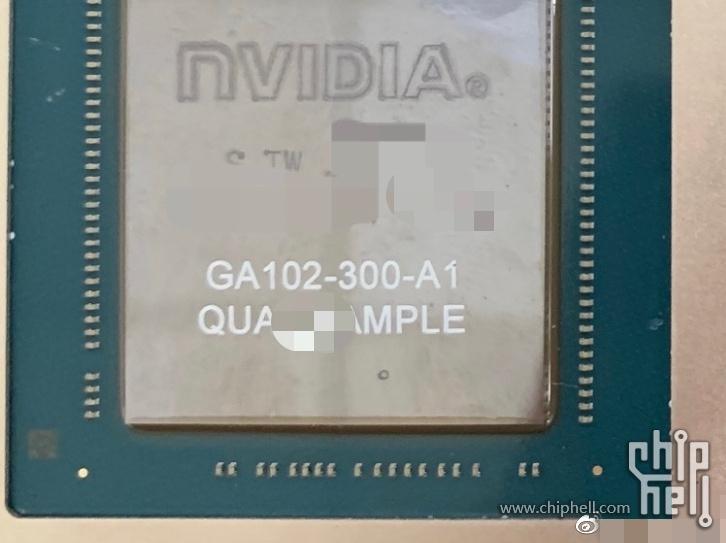 Первое фото чипа из RTX 3090 и RTX 3080. Он огромен