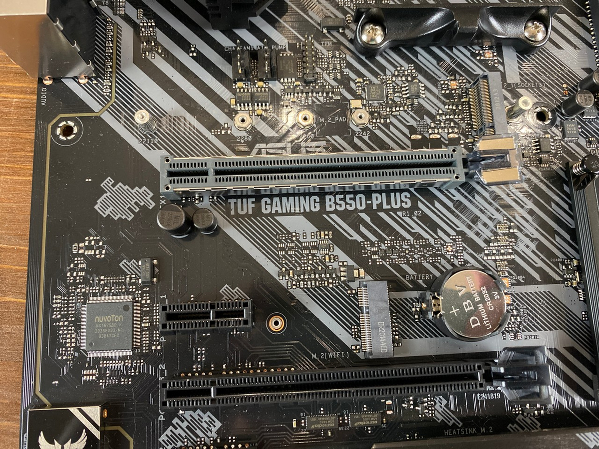 [Обзор] Материнская плата ASUS TUF Gaming B550-Plus