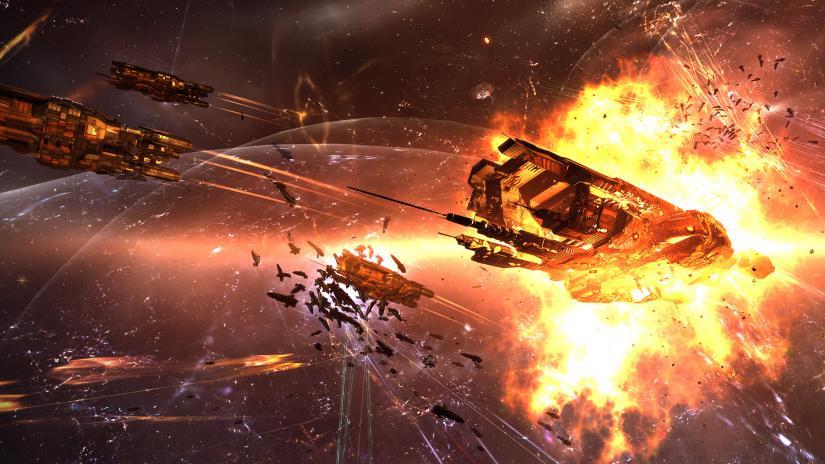 EVE Online —  Итоги 7 недели крупнейшей в истории войны. 177 тысяч уничтоженных кораблей и 14.1 триллион иск