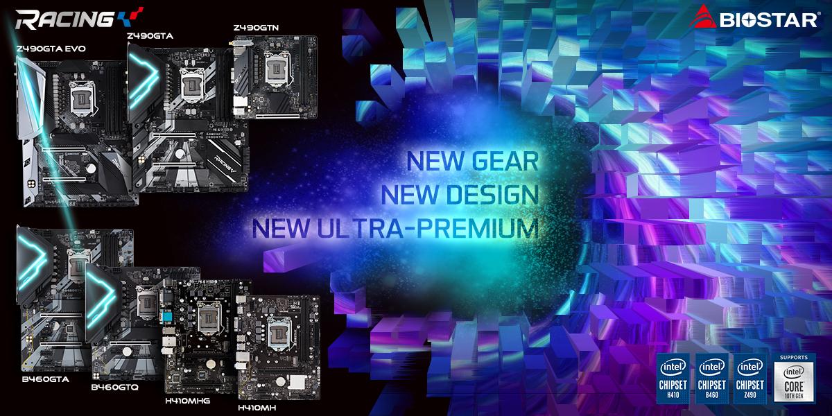 Материнские платы серии Intel 400 от BIOSTAR