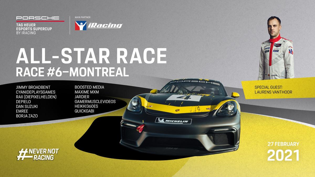 Большой гоночный уикэнд - 12 часов Батерста и 6 этап Porsche TAG Heuer Esports Supercup