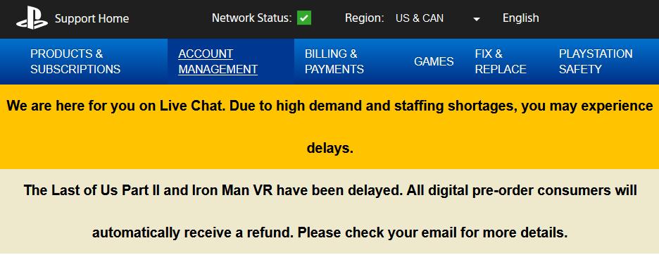 The Last of Us Part II - Страница игры удалена из PlayStation Store