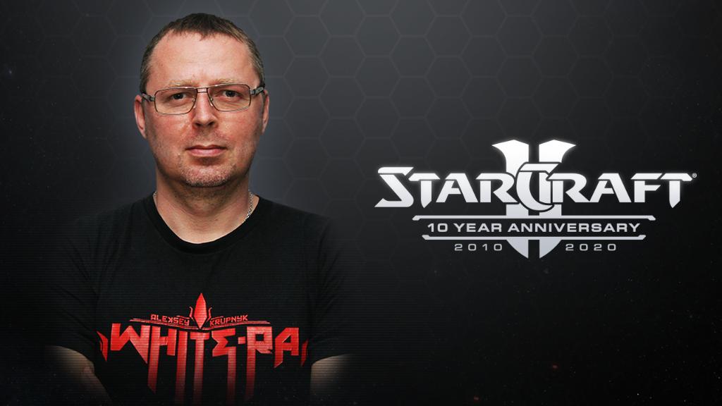 """[Интервью] Алексей """"White-Ra"""" Крупник - О StarCraft II и сотрудничестве с Blizzard"""