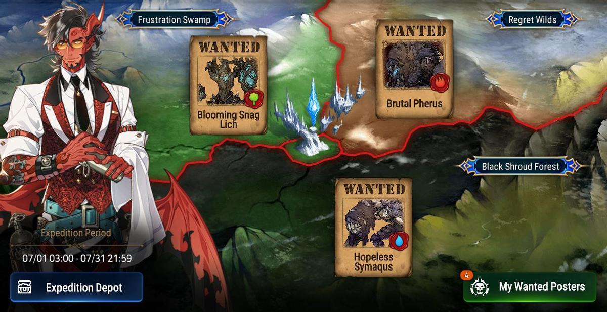 Epic Seven - Экспедиции, новая зона лабиринта и Муй