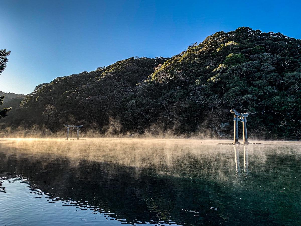 Высочайшее признание создатели Ghost of Tsushima избраны послами туризма настоящей Цусимы